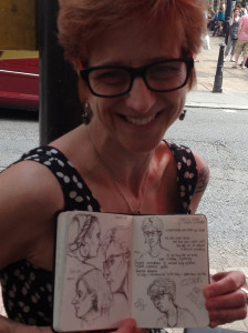 With Lucy's drawing
